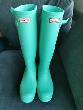 Hunter Original Women's Wellington Tall Rain Boots Thundercloud Matt Finish