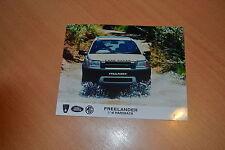 PHOTO DE PRESSE ( PRESS PHOTO ) Land Rover Freelander de 1997 RO138