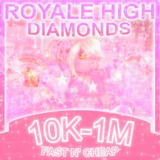 royale high diamonds♡ 100k-1m♡ read description♡