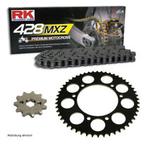 Kettensatz Malaguti X3M 125 Super Motard 07-10 Kette RK 428 MXZ 126 offen 14/