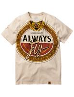 Men's Born Fly Oatmeal Heather Busch T-Shirt