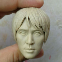 "1/6 Scale Blank Head Sculpt Stephen Chow Shaolin Soccer Unpainted Fit 12"" Body"
