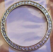 2Ct Diamond Bezel in Yellow Gold for Rolex 41mm DayDate 2 & Datejust 2 Watch