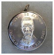 MEXICO 1954 SILVER MEDAL.  Jalisco award. Distinguished Author Jose Maria Vigil