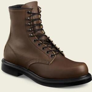 Red Wing 953 Men's 8-Inch Work Boot (Electrical Hazard, Heat/Oil/Slip Resistant)