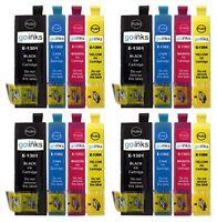 Go Inks Satz von 4 Tintenpatronen zum Austausch von Epson T1306 KompatibelNicht