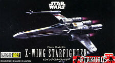 X-wing star fighter star wars vehicle model kit 86MM figure bandai japan
