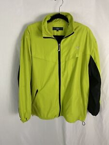 Callaway X- Series Women's XL Lime Green/ Black Poly Fleece Lined Jacket