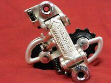 Patent-71 Campagnolo #1020/A Nuovo Record Rear Derailleur w/ NOS Shimano Pulleys