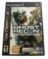 Tom Clancy's Ghost Recon Advanced Warfighter PS2 COMPLETE