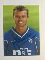 Autogramm ARTHUR NUMAN-Glasgow Rangers-NS HOLLAND-Ex-Twente/PSV Eindhoven-AK