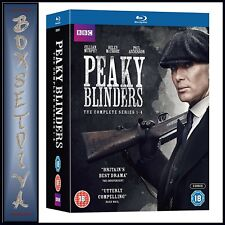 PEAKY BLINDERS - COMPLETE SERIES 1 2 3 & 4  **BRAND NEW BLU-RAY BOXSET ***