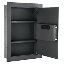 Hidden Wall Safe Home Gun Cash Jewelry Security Lock Electronic Fire Proof Box