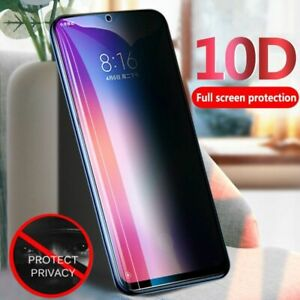 Screen Protector Film Privacy Anti Glare Tempered Glass Protection For Samsung
