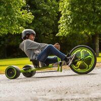 Children Huffy 20in Green Machine Mega-Slides & Drifts with 180˚ Spins Go Karts