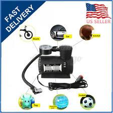 300PSI 12V Mini Air Compressor Electric Car Auto Tire Inflator Pump Portable US