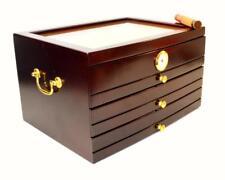 PALERMO A Serious Humidor! 3 Drawers & LARGE 150 Cigar Humidor - SHIPS FREE