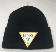 VTG Guess Hat Stocking Cap Beanie 90's Deadstock USA Hip-Hop ?
