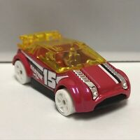 Hot Wheels Pink Super Gnat 1:64 Scale Diecast Toy Car Model Mattel