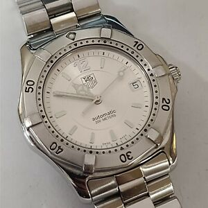 Tag Heuer Automatic Stainless Steel 200m 38mm Watch WK2116-1 TAG200M