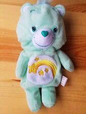 Care Bears Wish Bear Coin bag wallet purse bag Plush Doll toy