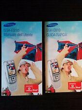 Manuale Guida utente Samsung SGH-E810