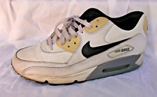2013 Mens Nike Air Max White Size 11.5 Used Rare Gray Black Shoes Sneakers Used