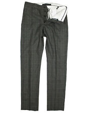 French Connection - Brown Multi Check Trousers - Size W32 *NEW WITH TAGS* RRP£90