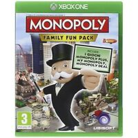 Hasbro Monopoly Family Fun Pack Game Microsoft Xbox One Brand New