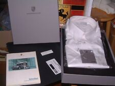PORSCHE DESIGN NOS WHITE SHORT SLEEVE DRESS SHIRT USA:SIZE XL = EURO XXL. NIBWT!