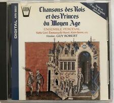 CHANSON DES ROIS ET DES PRINCES DU MOYEN AGE / GUY ROBERT  - [ CD ALBUM ]