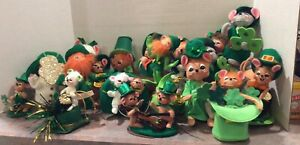 Annalee St. Patricks Day / Leprechauns Dolls - Your Choice