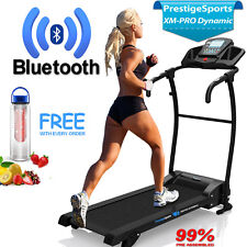 Treadmill Electric Folding Running Machine With Incline XM-PRO Dynamic Bluetooth
