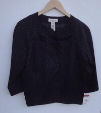 Covington Black  Women's Blazer Size-M-MSRP $58-New