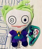 "New Joker DC Comics BATMAN Movie Plush Doll Toy Factory Figure 2019 Promo 7"" NWT"