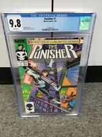 1987 Marvel Comics THE PUNISHER Issue #1 CGC 9.8