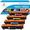 4PK TN221 Black TN225 Color Toner For Brother MFC-9340CDW MFC-9130CW HL-3170CDW
