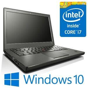 "Lenovo ThinkPad X250 Intel i7 5600U 8G 128G/256G SSD WiFi 12.5"" Win 10 Pro"
