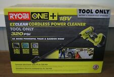 New! Ryobi 18-Volt ONE+ Cordless Power Cleaner 320 PSI (Tool-Only) RY120350
