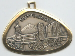 Orig.remembrance medal   Olympic Games TOKYO 1964  !!  VERY RARE