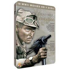 World War II: Commando Collection (DVD, 2010, 4-Disc Set, Tin Case) NEW SEALED
