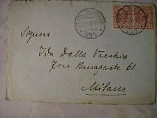 POSTA MILITARE FRANCHIGIA PRIMA GUERRA P.M. 177- 22/6/1918 (a1r6)