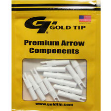 Gold Tip 12pk .246 GT Series Nock White Archery Arrow #23453 Replacements