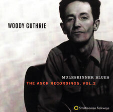 WOODY GUTHRIE - CD - MULESKINNER BLUES