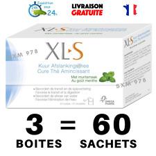 3 Boîtes XLS Tisane Laxative Minceur Régime Maigrir Thé Transit Detox Tea Menthe