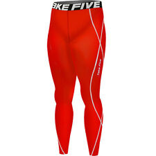 Red Cycling Base Layers