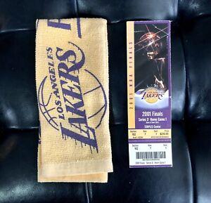 Los Angeles Lakers 2001 NBA Champions - Finals Ticket Stub. Kobe Bryant- Game 1