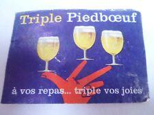Etiquette allumette - BIERE - TRIPLE PIEDBOEUF - Belgium - (88)