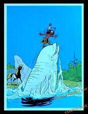 YAKARI baleine béluga poney cheval AFFICHE chambre poster indien pour enfant