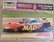 MAD Firebird Funny Car Jerry Toliver Model, Level 3 Scale 1:24 Revell 1998 MISB